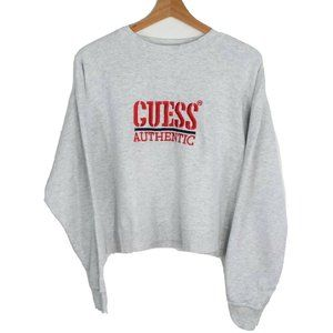 Vintage Guess USA George Marciano Crewneck Cropped